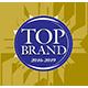 top brand award logo accurate
