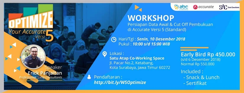 Workshop optimize your accurate 5