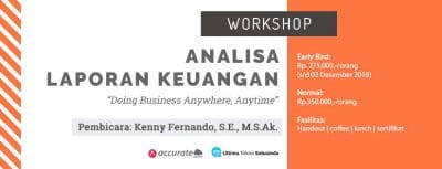 workshop analisa laporan keuangan b