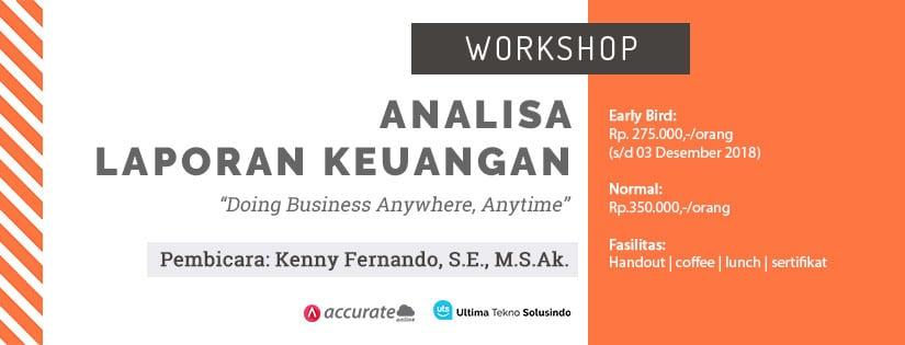 workshop analisa laporan keuangan b