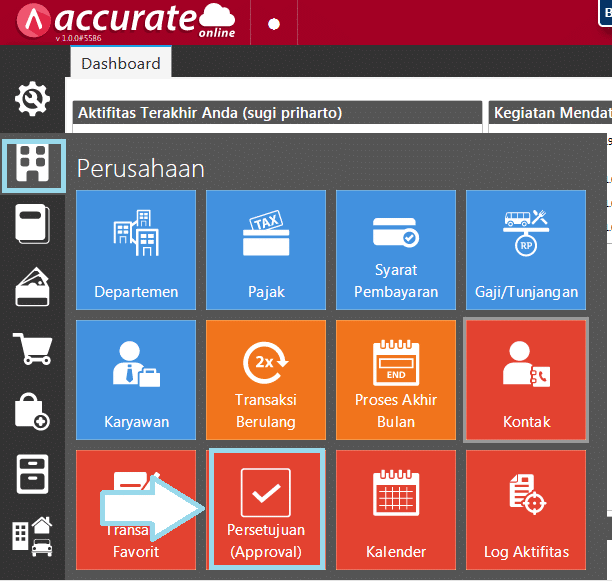 approval pada accurate online 5