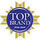 top brand award logo accurate