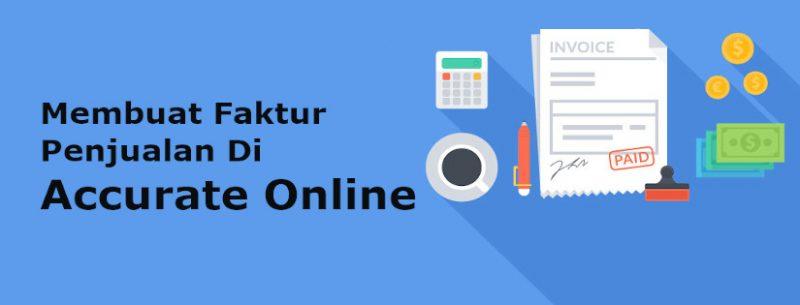faktur penjualan accurate online